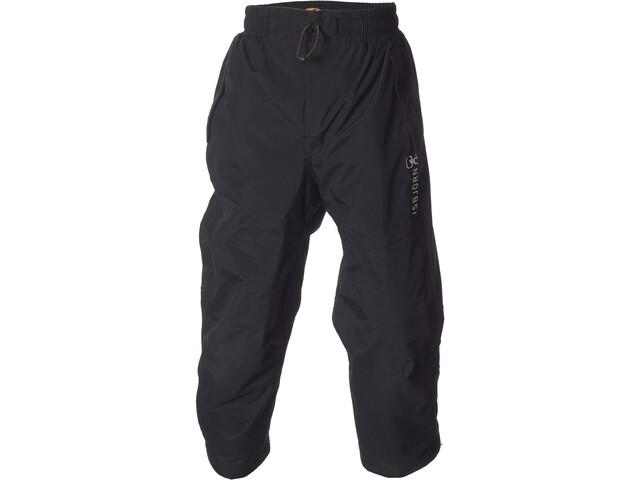 Isbjörn Pantalones Lluvia 2 Capas Niños, black